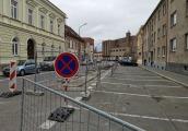 Havárie v ulici Milady Horákové