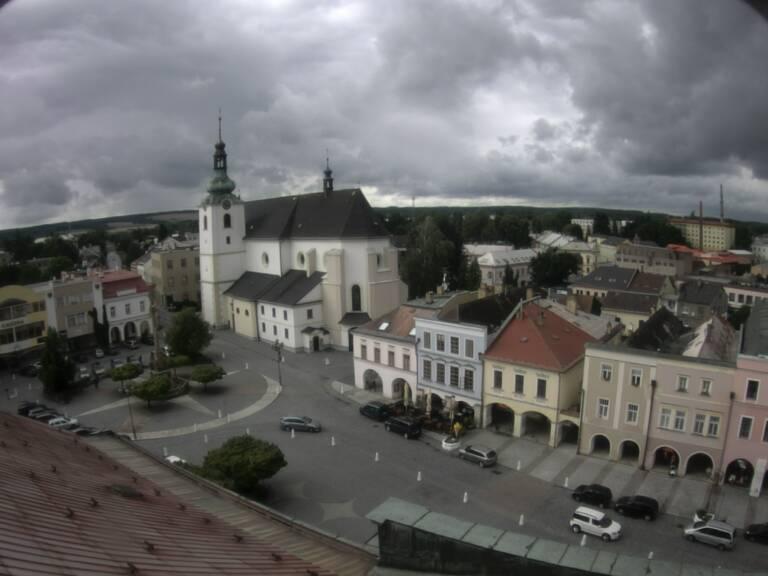 Webová kamera na náměstí Míru ve Svitavách